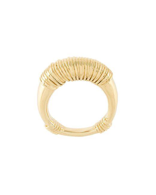 Aurelie Bidermann - Metallic Alhambra Ring - Lyst