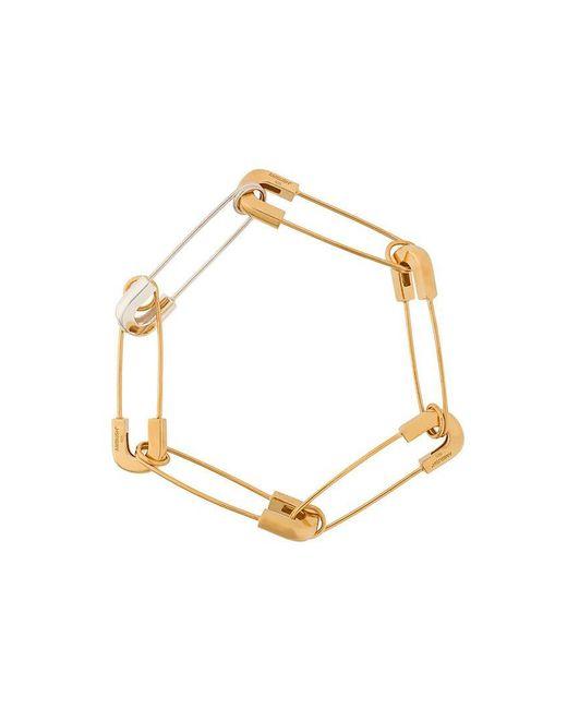Ambush - Metallic Safety Pin Link Bracelet for Men - Lyst
