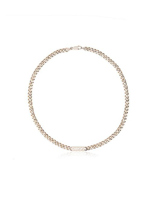 Established - Metallic 14kt Yellow Gold Boss Necklace - Lyst