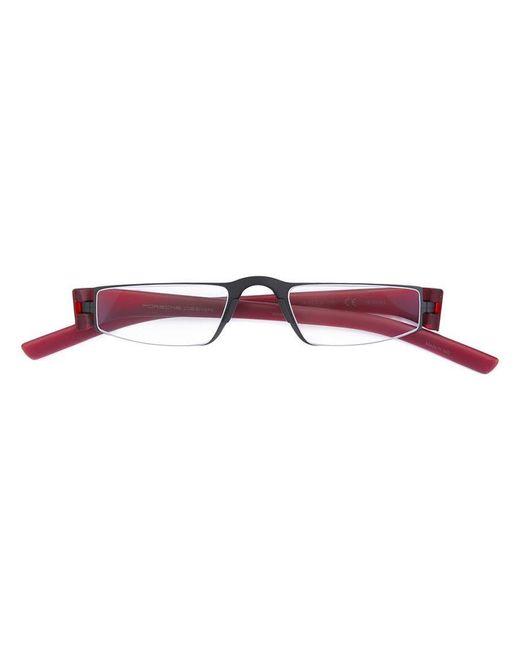 77b7b5f0b72 Porsche Design - Black Square Glasses for Men - Lyst ...