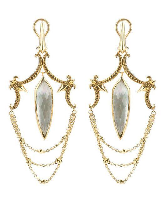 Stephen Webster - Metallic Large Chandelier Earrings - Lyst