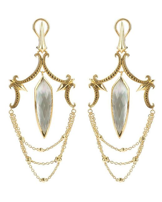 Stephen Webster | Metallic Large Chandelier Earrings | Lyst