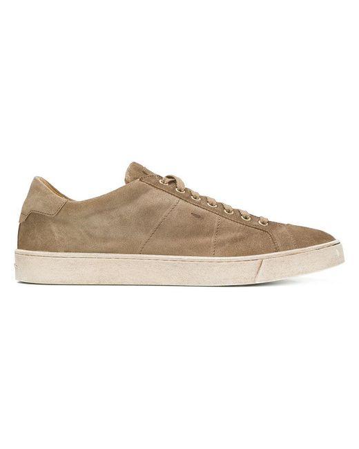 Santoni - Natural Low-top Sneakers for Men - Lyst