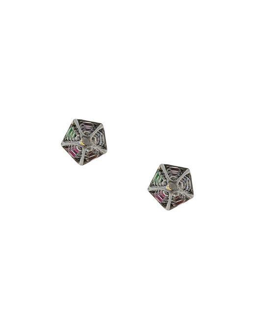 Noor Fares - Multicolor Cone Stud Earrings - Lyst