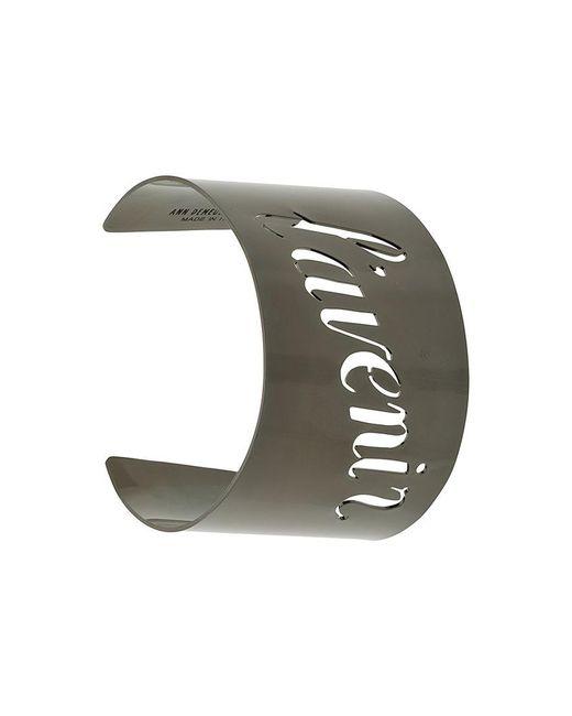 Ann Demeulemeester | Black L'avenir Arm Cuff for Men | Lyst