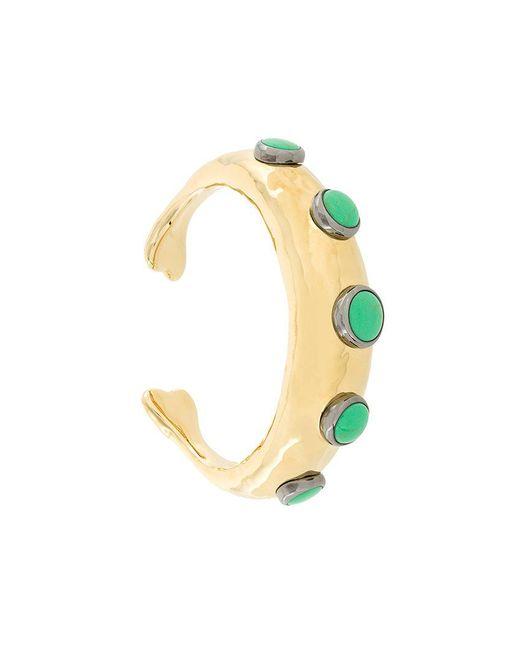 Aurelie Bidermann - Metallic Turquoise Bracelet - Lyst