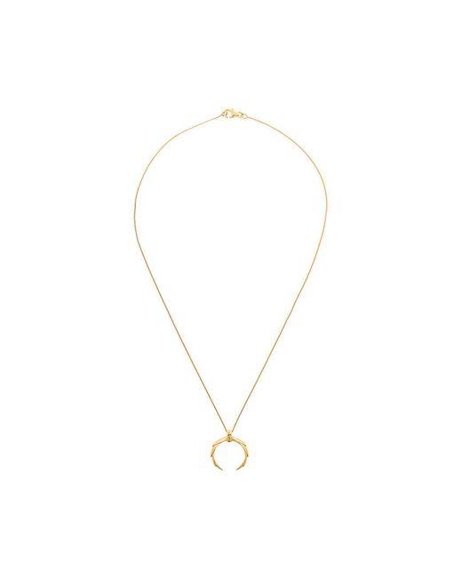 Niomo - Metallic Butia Necklace - Lyst