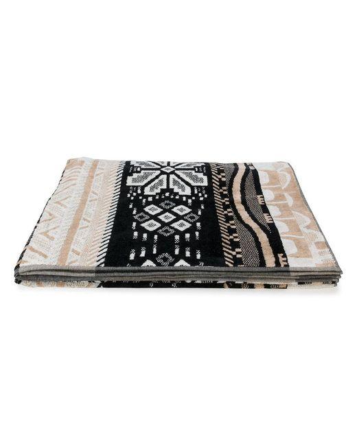 Laneus - Brown Multi-print Beach Towel - Lyst