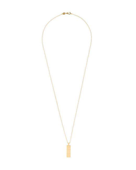 Northskull - Multicolor Vergoldete 'Layers' Halskette mit Anhänger for Men - Lyst