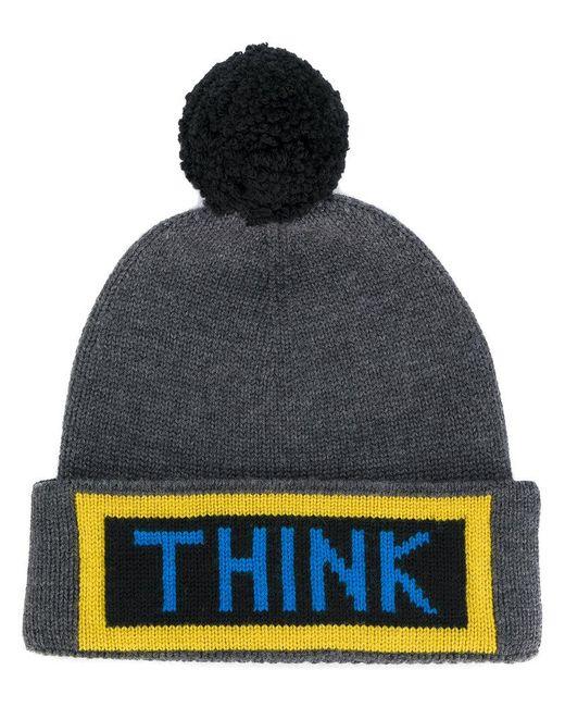 Fendi | Black Think Bobble Hat for Men | Lyst