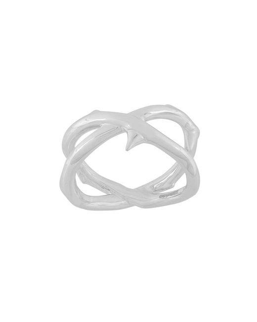 Shaun Leane - Metallic Rose Thorn Wide Ring - Lyst