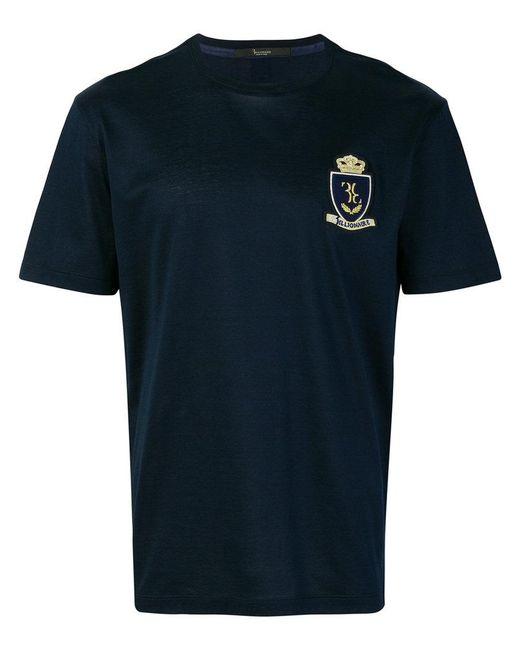 Billionaire - Blue Crest T-shirt for Men - Lyst