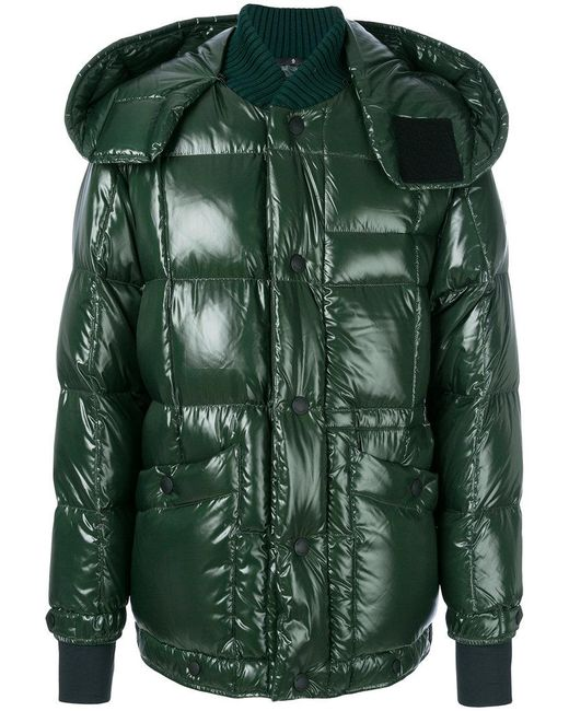 moncler grenoble puffer jacket in green for men lyst. Black Bedroom Furniture Sets. Home Design Ideas
