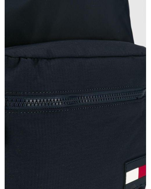 79748343143 ... Tommy Hilfiger - Blue Colour-blocked Dome Backpack for Men - Lyst