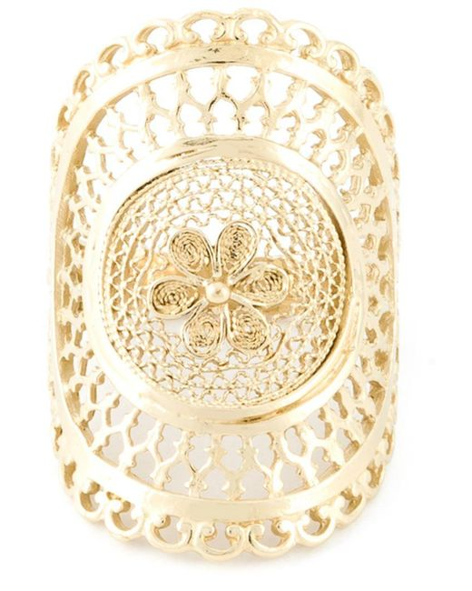 Wouters & Hendrix - Metallic Filigree Ring - Lyst
