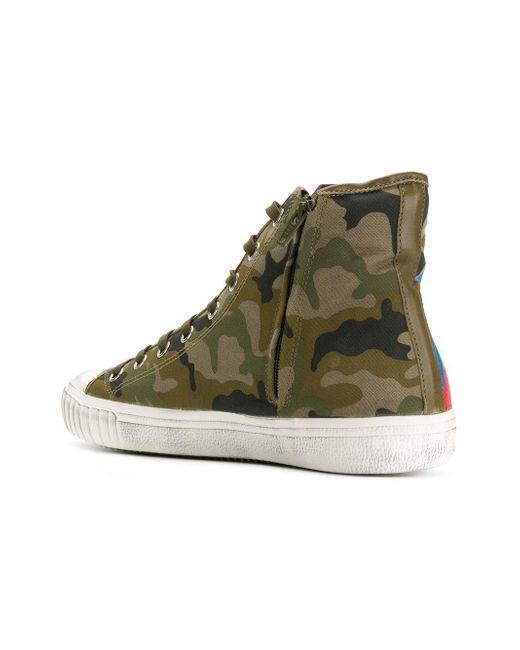hi-top Gare sneakers - Green Philippe Model efKAu59c
