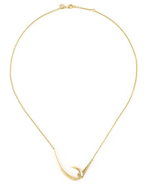 Shaun Leane | Metallic 'hook' Necklace | Lyst