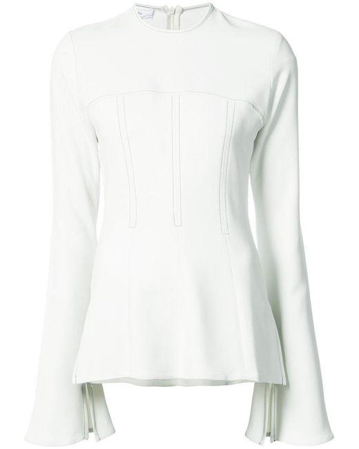 Beaufille | White Pavo Blouse | Lyst