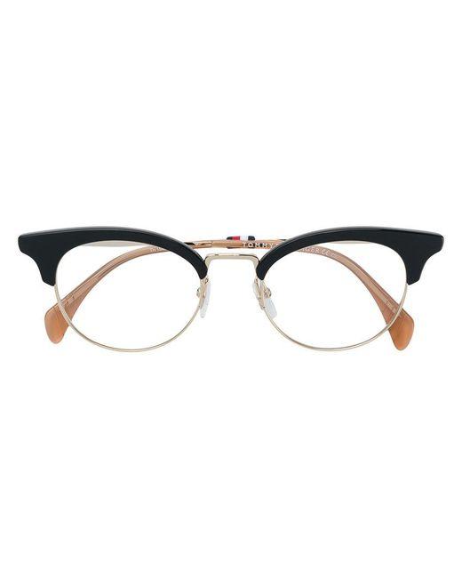 Tommy Hilfiger - Black Cat Eye-frame Glasses - Lyst