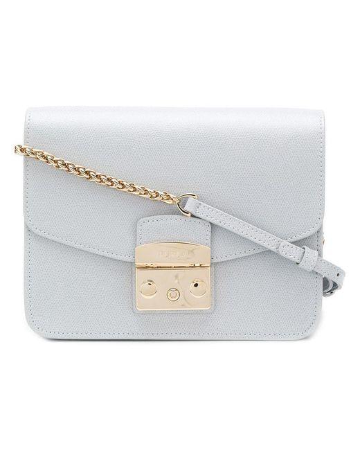 Furla - Gray Metropolis Shoulder Bag - Lyst ... 214ca9c8d1851