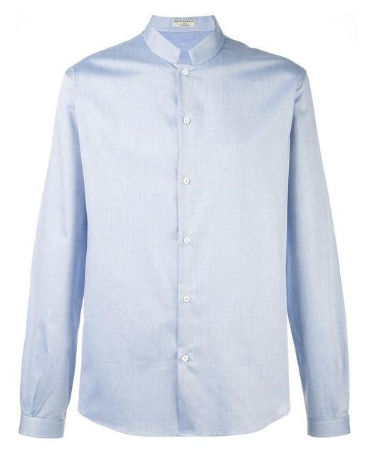Éditions MR - Blue 'officier' Shirt for Men - Lyst