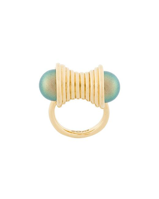 Wouters & Hendrix - Metallic Curiosities Pearl Statement Ring - Lyst
