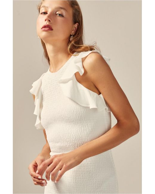 9ae7e33d91ca0 ... C/meo Collective - White Expired Mini Dress - Lyst ...