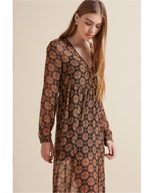 The Fifth Label | Brown The Collectable Long Sleeve Dress | Lyst