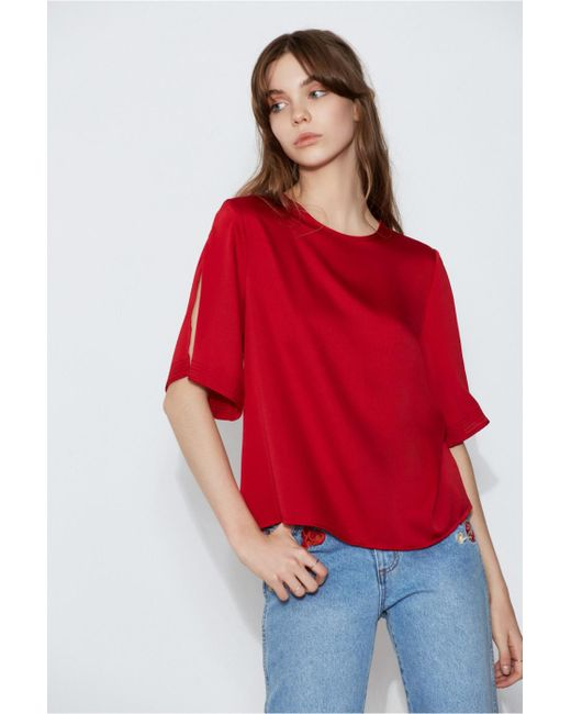 The Fifth Label - Red Palladium Top - Lyst