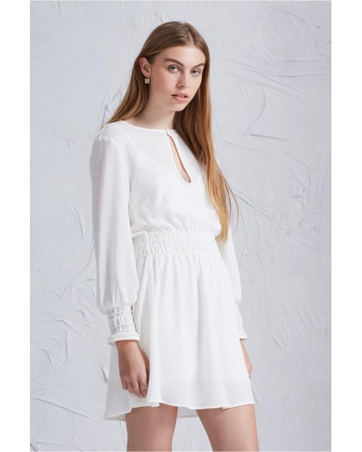 The Fifth Label | White Chase That Feeling Long Sleeve Dress | Lyst