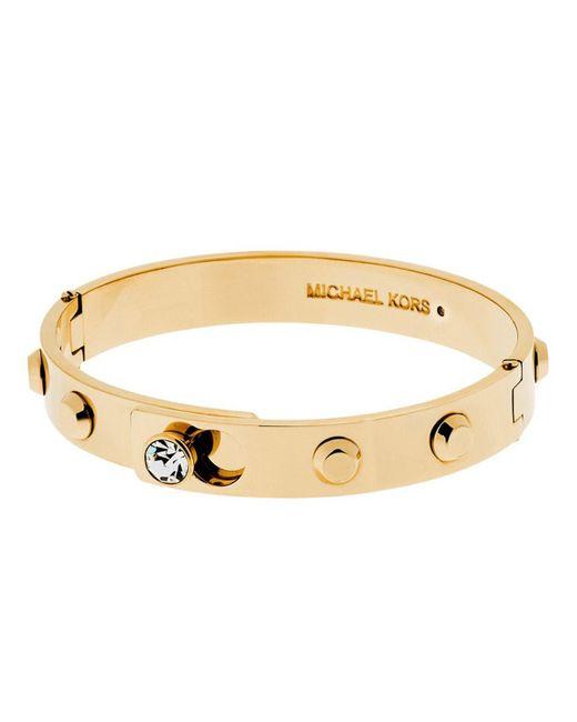Michael Kors | Metallic Mkj4550710 Ladies Studded Bangle | Lyst