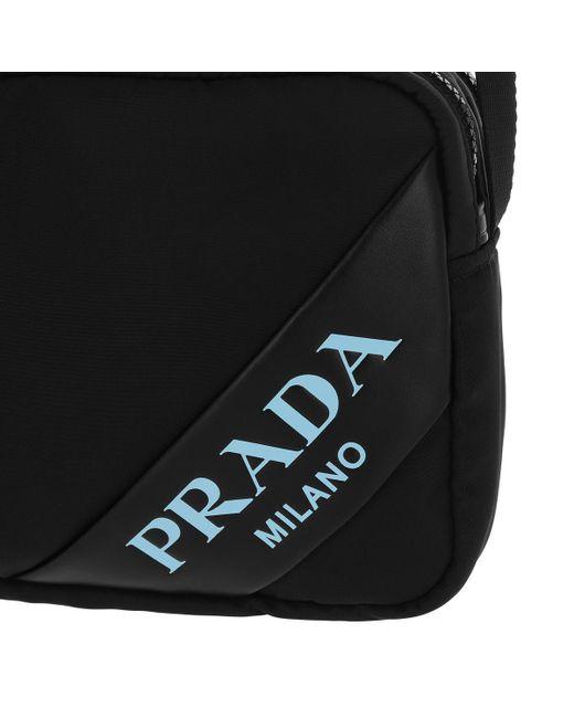 134bde4f6b30 Prada Mirage Shoulder Bag Nylon Black in Black - Save 33% - Lyst