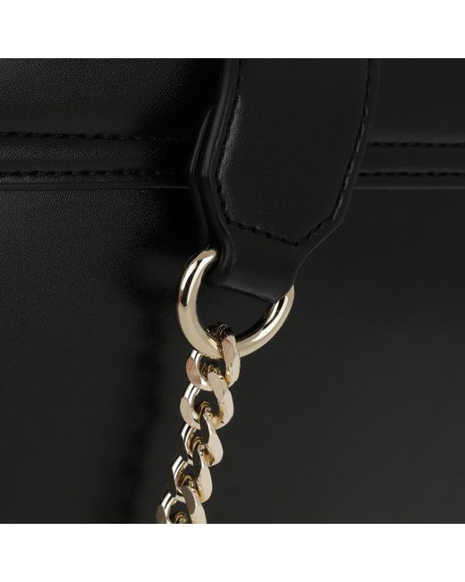 Versace Jeans Studded Chain Crossbody Bag Black in Black - Save 13 ... f9cd2d7a3782d