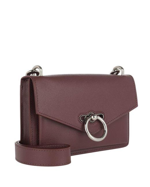537abe1c45ea ... Rebecca Minkoff - Purple Jean Crossbody Bag Bordeaux - Lyst ...