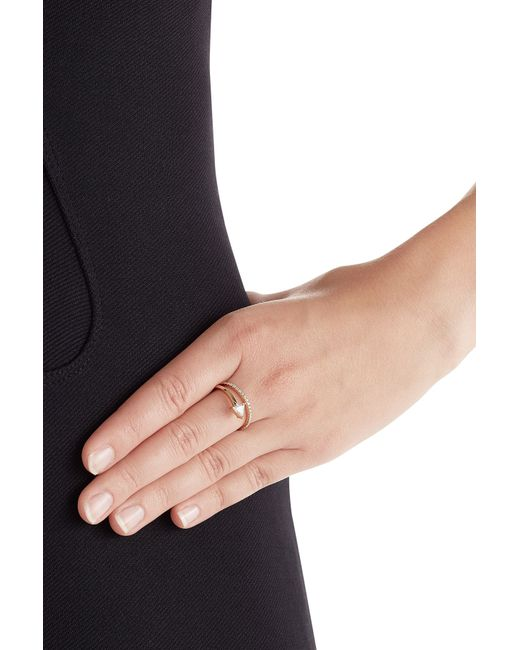 Delfina Delettrez | Marry Me 18kt Pink Gold Ring With Diamonds | Lyst