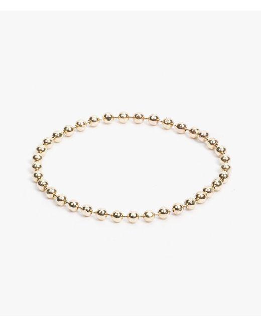 Catbird | Metallic Tiny Gold Chain Ring | Lyst