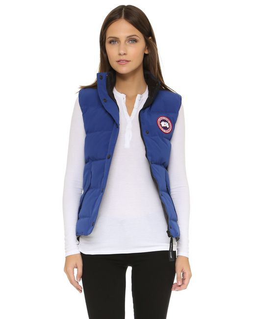 Canada Goose | Freestyle Vest - Pacific Blue | Lyst