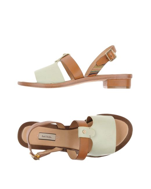 Paul Smith | Green Sandals | Lyst