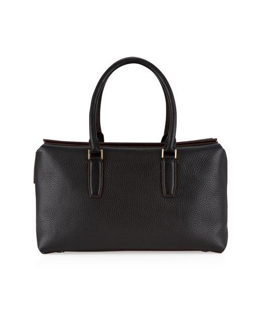 Nicole Farhi | Black Aella Top Handle Bag | Lyst