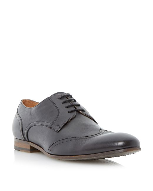 Dune | Gray Ravene Lace Up Formal Brogues for Men | Lyst