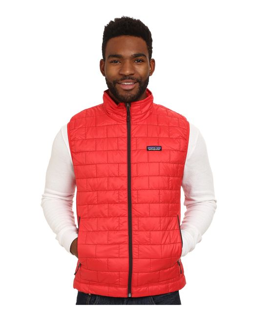 Patagonia | Red Nano Puff® Vest for Men | Lyst