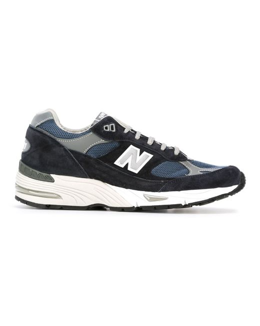 new balance 991 sneakers in blue for men lyst. Black Bedroom Furniture Sets. Home Design Ideas