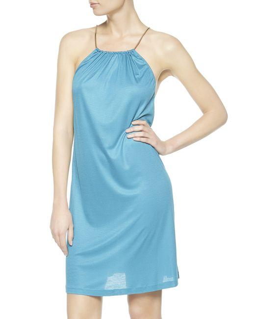 La Perla | Blue Dress | Lyst