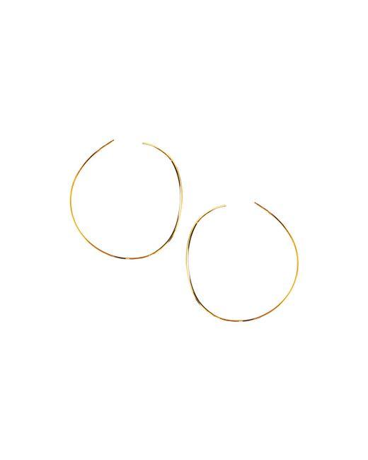 Lana Jewelry | Metallic 14k Elite Small Wave Hoop Earrings | Lyst