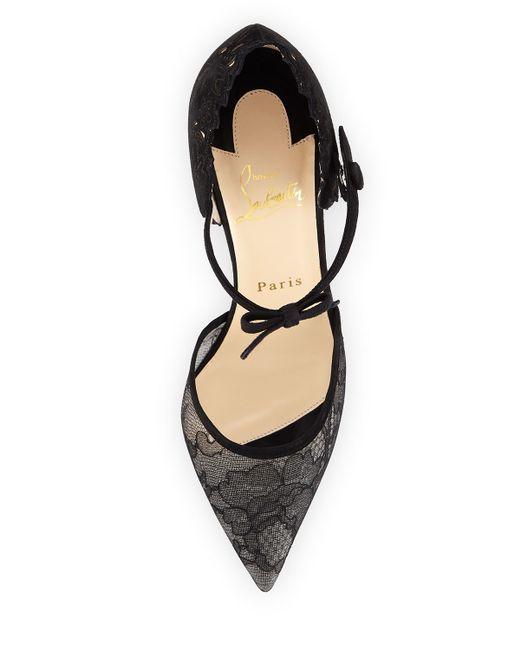christian louboutin shoes on sale fake - christian louboutin biala spike leather red sole pump, mens louboutin