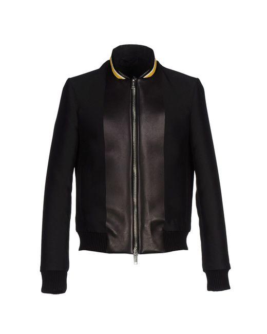 Les Hommes | Black Jacket for Men | Lyst