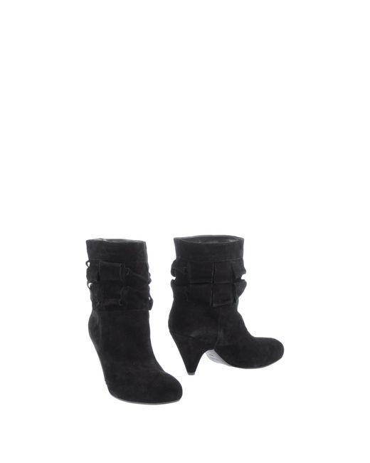 Vic Matié   Black Shoe Boots   Lyst