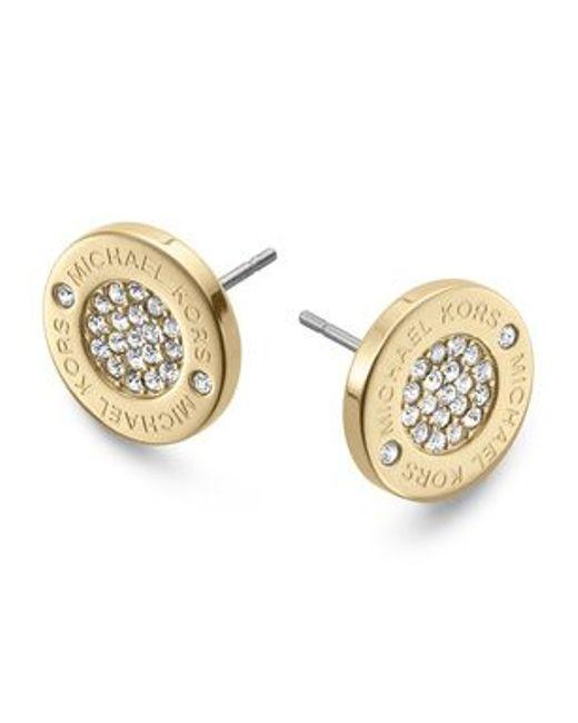 Michael Kors | Metallic Mkj3351710 Womens Earrings | Lyst