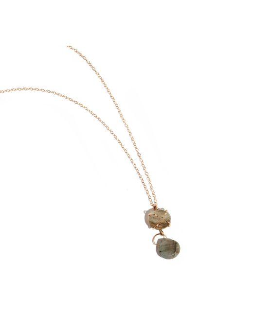 Melissa Joy Manning | Metallic Freeform Adjustable Labradorite Necklace | Lyst