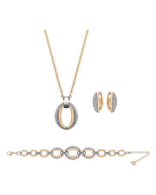 Swarovski | Metallic Circlet Set | Lyst